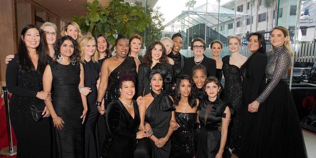 2018 Golden Globes: #TimesUp