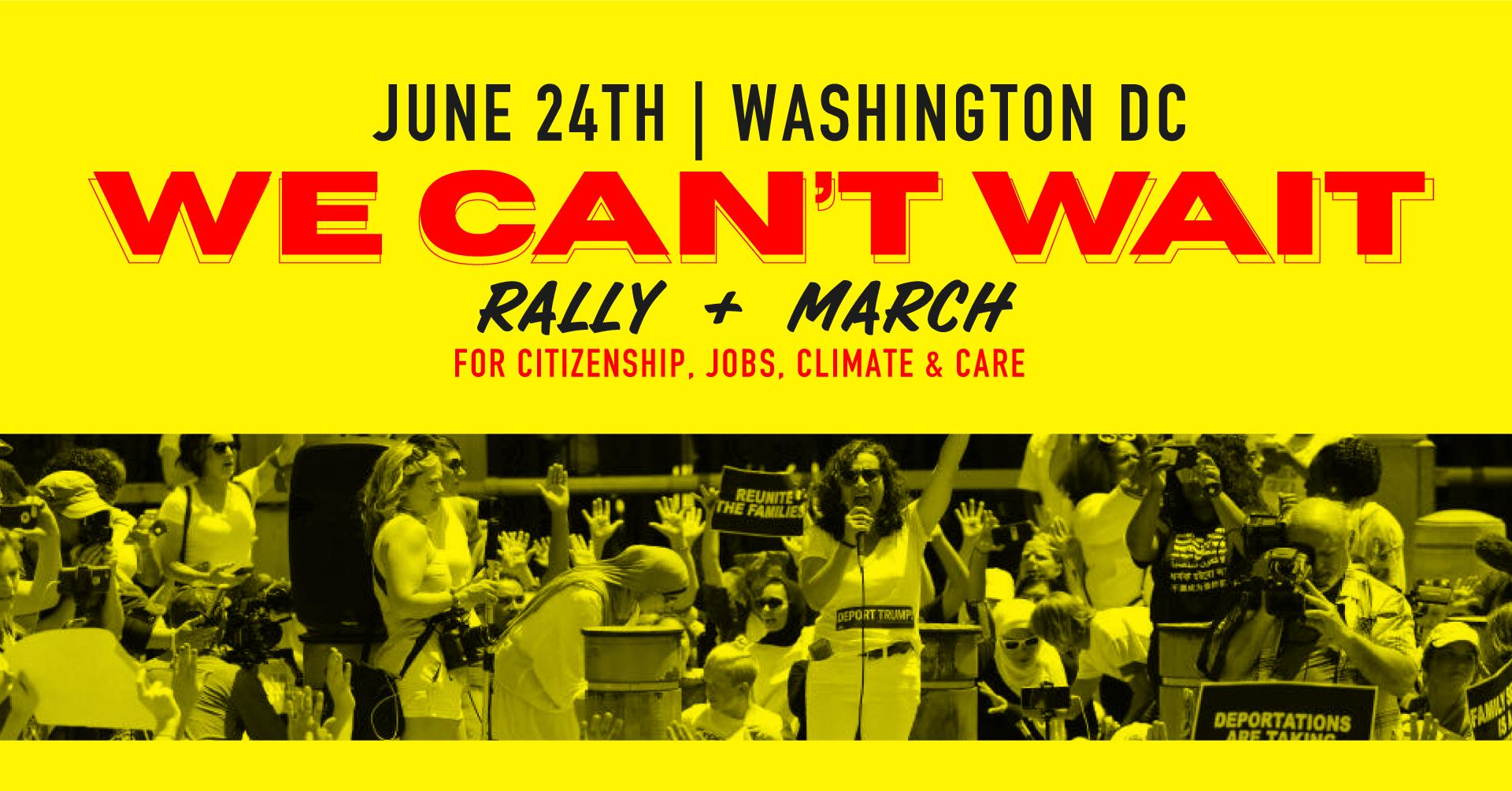 Join the #WeCantWait action on June 24