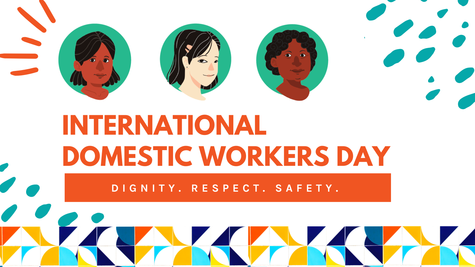 Celebrate International Domestic Workers Day today!