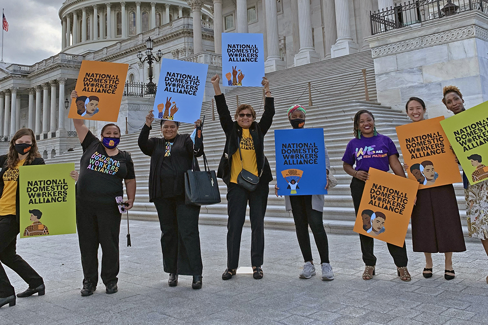 Care Rally hosted by Speaker Pelosi